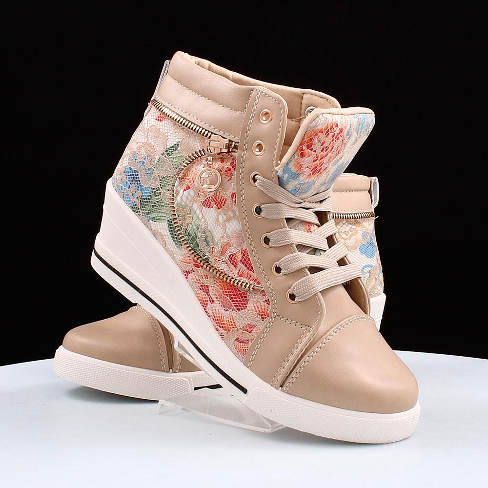 e91070ff7e0821 Купити жіночі снікерс Desun (40591) в інтернет-магазині взуття ShoesSALE