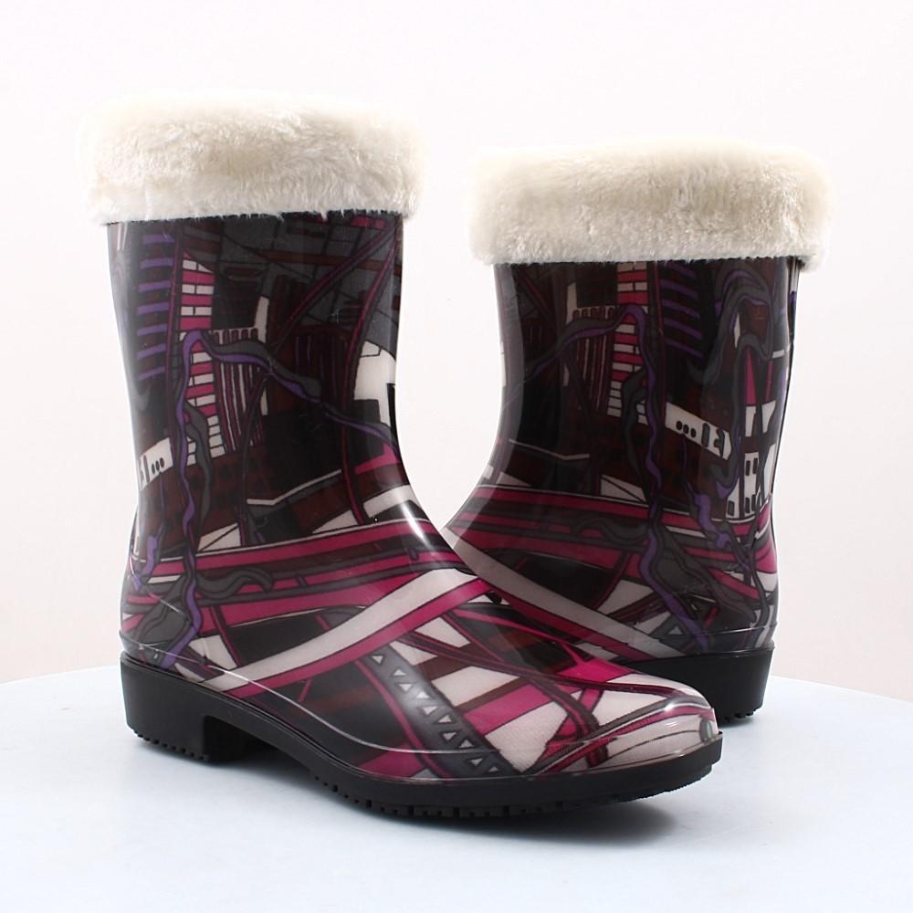 Купити жіночі гумові чоботи Dual (44130) в інтернет-магазині взуття ... b3cd338f71d75